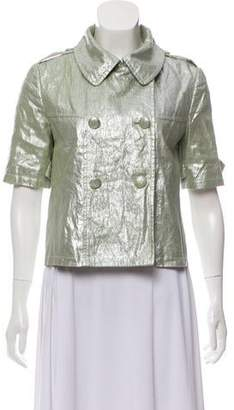 Gryphon Short Sleeve Metallic Jacket