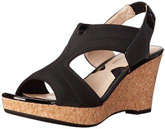 Adrienne Vittadini Footwear Women's Carinea Wedge Sandal $30.95 thestylecure.com