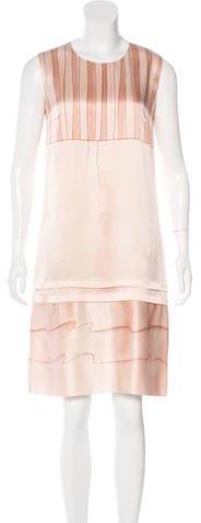 pradaPrada Sleeveless Shift Dress