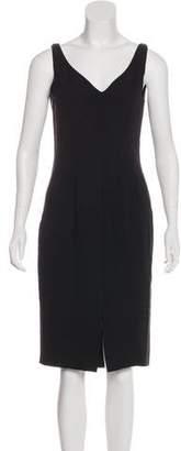 Ralph Lauren Purple Label Silk Midi Dress
