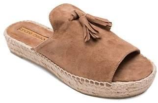 Andre Assous Women's Cameron Suede Espadrille Platform Sandals