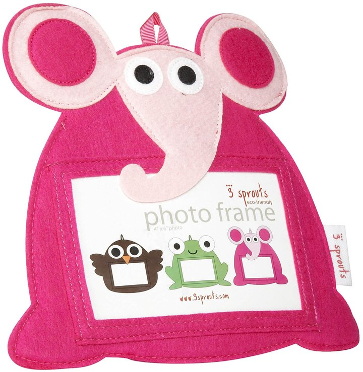 3 Sprouts Photo Frame - Elephant