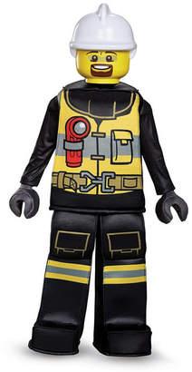 BuySeasons Lego Iconic Firefighter Prestige Big Boys Costume