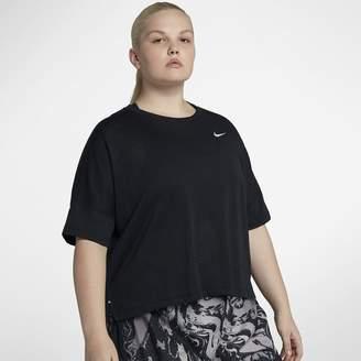 Nike Tailwind (Plus Size) Women's Short Sleeve Running Top