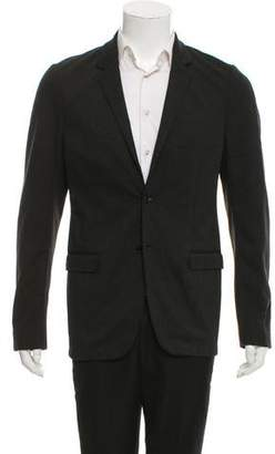Calvin Klein Collection Knit Two-Button Blazer