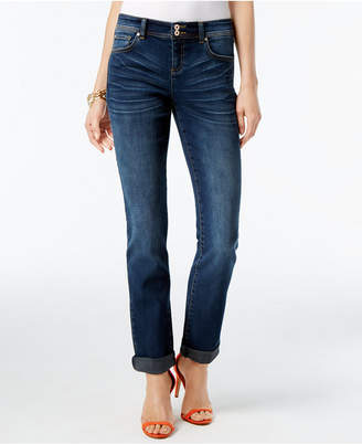 INC International Concepts I.n.c. Curvy-Fit 5-Pocket Straight-Leg Jeans, Created for Macy's