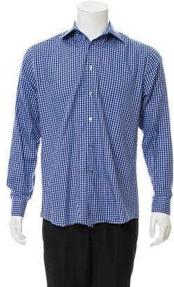 Paul Smith Gingham Button-Up Shirt
