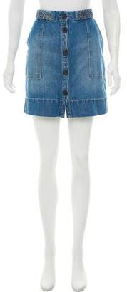 Joie High-Rise Mini Skirt