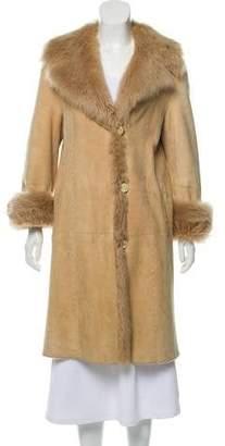 Fur Long Shearling Coat