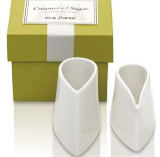 Tea forte sugar & creamer set