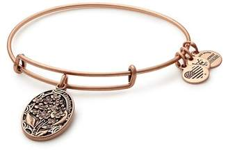 Alex and Ani I Love You Grandmother Expandable Wire Bangle