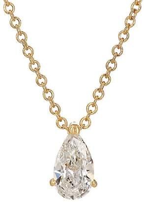 Ileana Makri Women's Teardrop Pendant Necklace - Yellow Gold