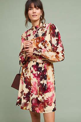 Vineet Bahl Watercolor Hibiscus Dress