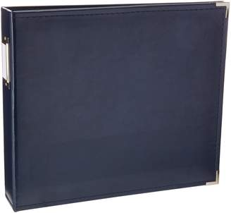We R Memory Keepers Faux Leather 3-Ring Binder 12-Inch by 12-Inch