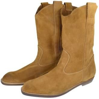 Maison Margiela Camel Suede Boots