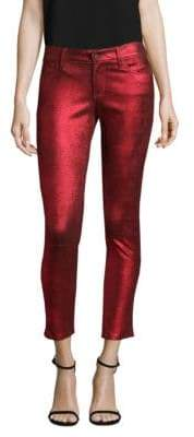 RtA Prince Metallic Leather Pants