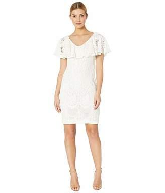 Lauren Ralph Lauren 177A Lore Floral Lace Tamalira Sleeveless Day Dress