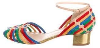 Charlotte Olympia Ranchera Ankle Strap Sandals