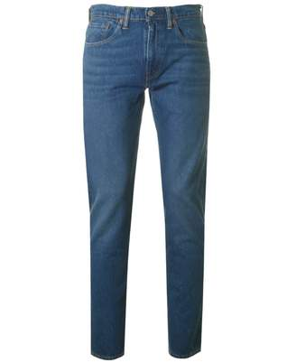 Levi's 502 Regular Tapered Fit Jeans Colour: Mid City, Si