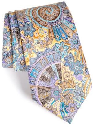 Men's Ermenegildo Zegna Quindici Paisley Silk Tie $285 thestylecure.com
