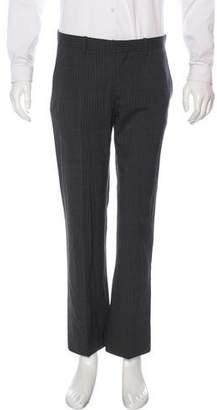 Theory Striped Wool Pants