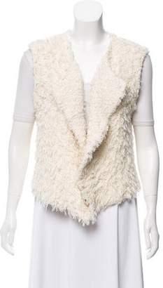 IRO Shag Knit Vest
