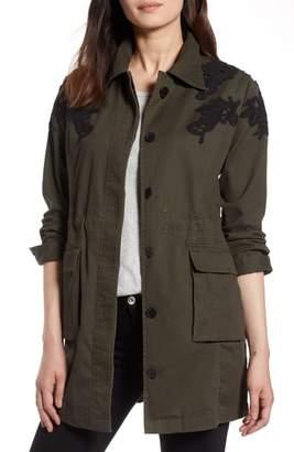 Halogen Lace Detail Jacket