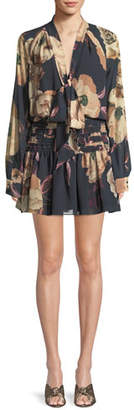 Camilla And Marc Mariposa Mini Dress in Floral Print