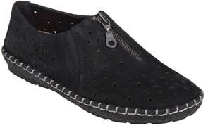 Earth R) Callisto Perforated Zip Moccasin