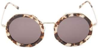 Illesteva Antibes Round Sunglasses