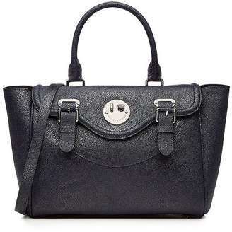 Hill & Friends Happy Satchel Textured Leather Tote