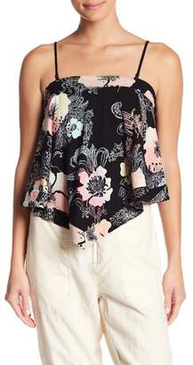 Free People Shadowplay Patterned Top