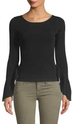 Milly Contrast Boatneck Top