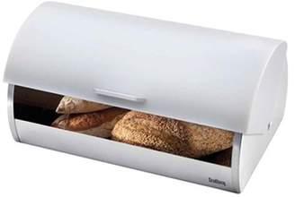 Scullery Bread Bin Stainless Steel White
