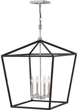 Hinkley Lighting Stinson Indoor 4-Light Lantern Pendant Hinkley Lighting