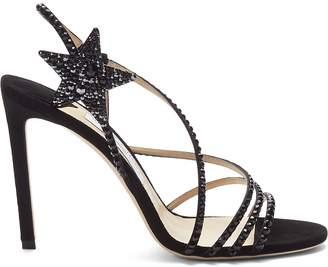 6b9d0a7a0ffb Jimmy Choo Crystal Embellished Sandals For Women - ShopStyle Australia