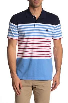 Brooks Brothers Stripe Knit Polo