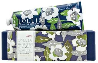 Lollia (ロリア) - ロリア(LoLLIA) ラージハンドクリーム Wander 113g (ナイトブルーミングジャスミンとサイプレスの香り)
