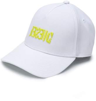 Diesel 3D logo baseball cap