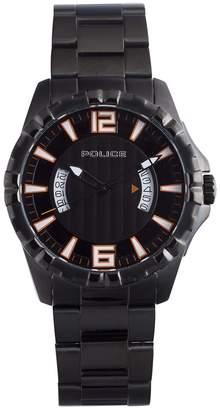 Police Men's PL-12889JSB/02M Profile IP Luminous Stainless Steel Watch