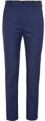 Balenciaga Slim-Fit Virgin Wool-Blend Twill Trousers