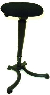 Symple Stuff Sit-Stand Folding Height Adjustable Lab Stool Symple Stuff