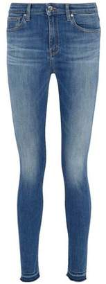 IRO Frayed Faded Mid-Rise Skinny Jeans