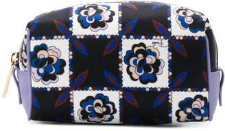 Emilio Pucci floral print make up bag