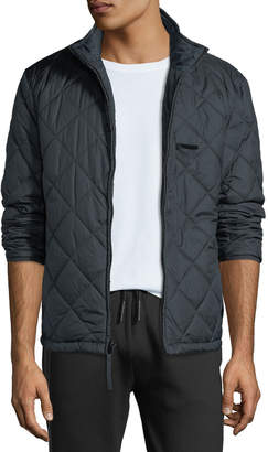 Andrew Marc Humboldt Quilted Stand-Collar Jacket