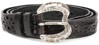 Alberta Ferretti cut out belt