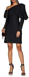 Osman Women's Twill One-Shoulder Cocktail Dress - Black