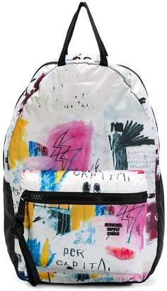 Herschel abstract print backpack