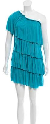 Robert Rodriguez Tiered Knee-Length Dress w/ Tags
