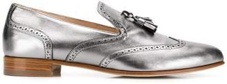 Fabiana Filippi metallic tassel loafers